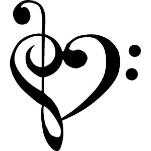 Photo from http://cincinnatiit.com/11/heart-music-clef