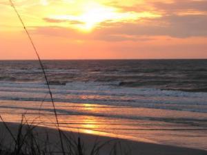 Sunrise on Topsail Island
