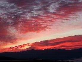 Charleston Overlook Red Sunset 20150315
