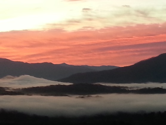 Charleston Overlook Sunset 20150315