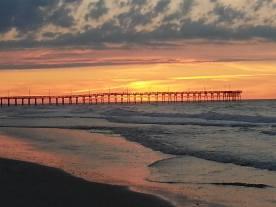 Sunrise Pier Topsail 6-14-16